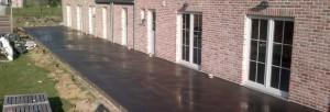 assemblage extérieur de terrasses